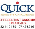 QUICK SERVICES - Distributeur CACOMIAF