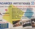 Vacances Artistiques [INSAAC]