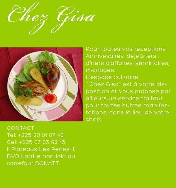 Espace Culinaire Chez Gisa
