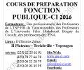 COURS DE PRÉPARATION CONCOURS DE LA FONCTION PUBLIQUE CI