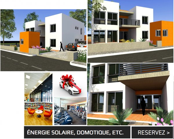 SMART CITY (VILLAS HAUT STANDING)