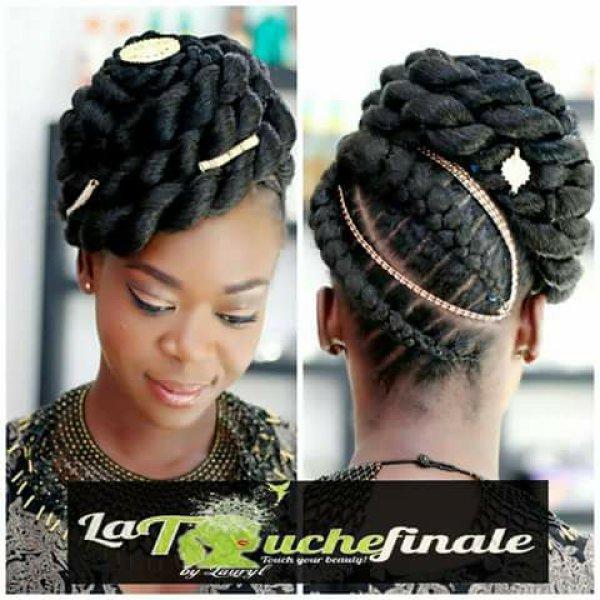 LA TOUCHE FINALE(entretien de cheveux naturels)