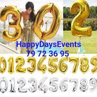 HAPPY DAYS Events
