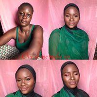 Chic dame make up